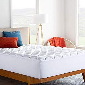 LINENSPA Ultra Plush Pillow Top Mattress Pad- Rayon from Bamboo Cover with Down Alternative F... #pillowtopmattress