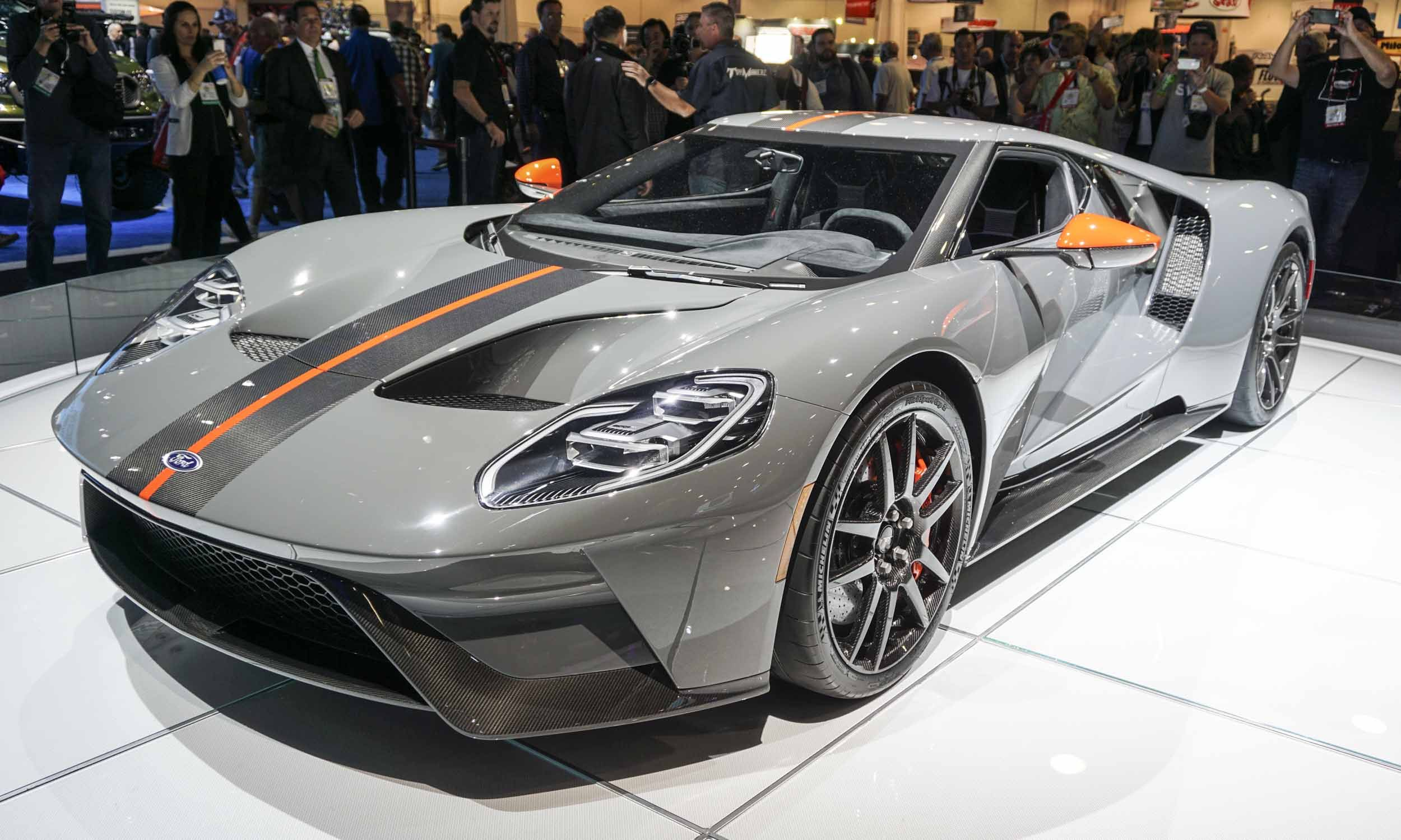 2018 Sema Show 2019 Ford Gt Carbon Series Ford Gt 2019 Ford Ford