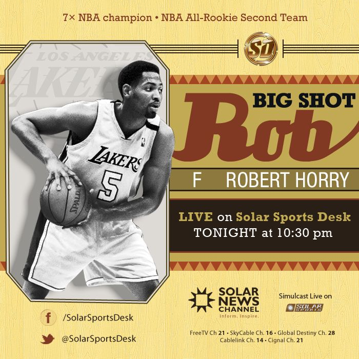 Live Tonight On The Solar Sports Desk Show Is 7x Nba Champion Robert Horry Nbalegend Nba Champions Nba Legends Nba
