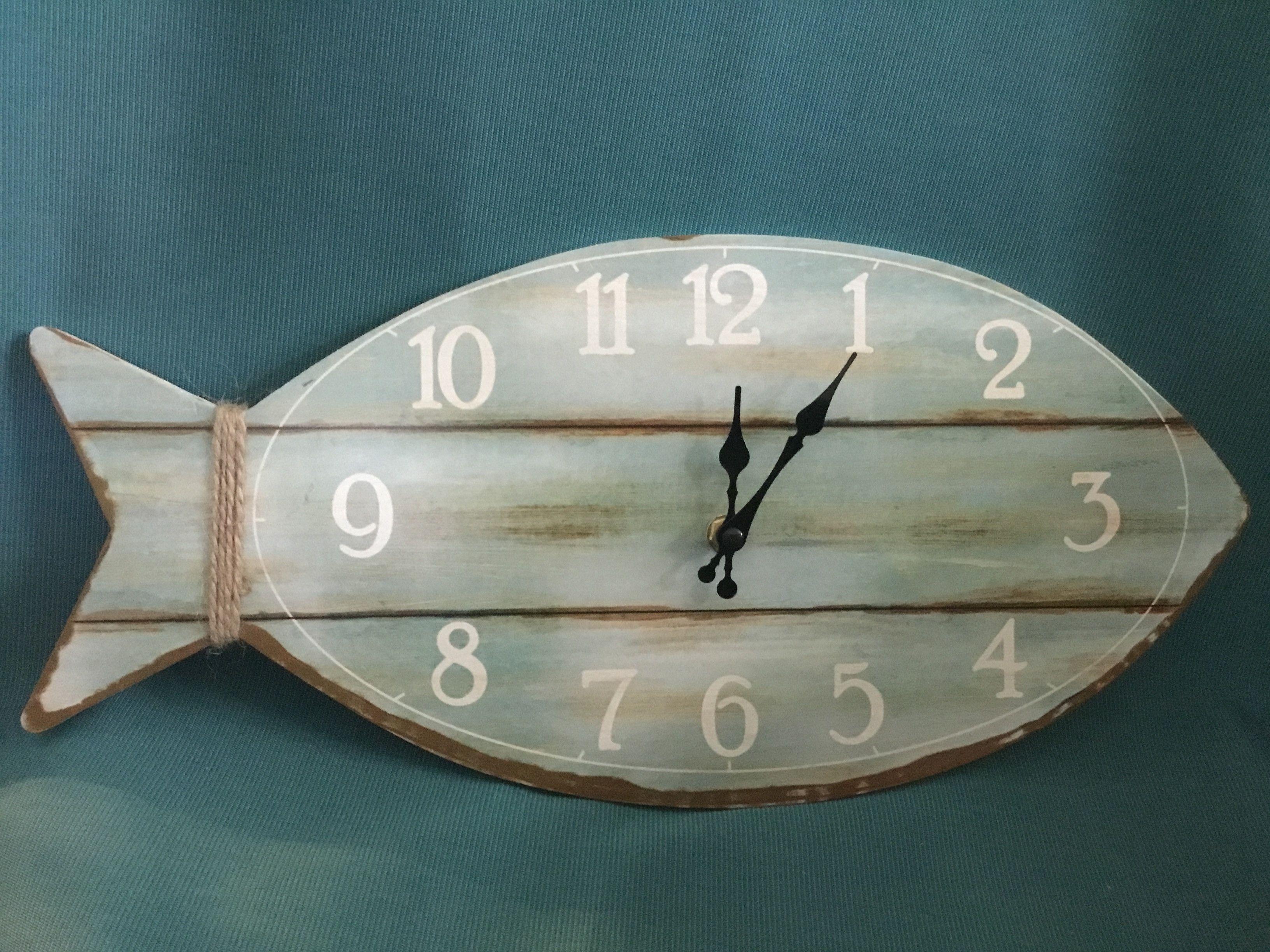 Fish wall clock wall clocks clocks and fish fish wall clock amipublicfo Images