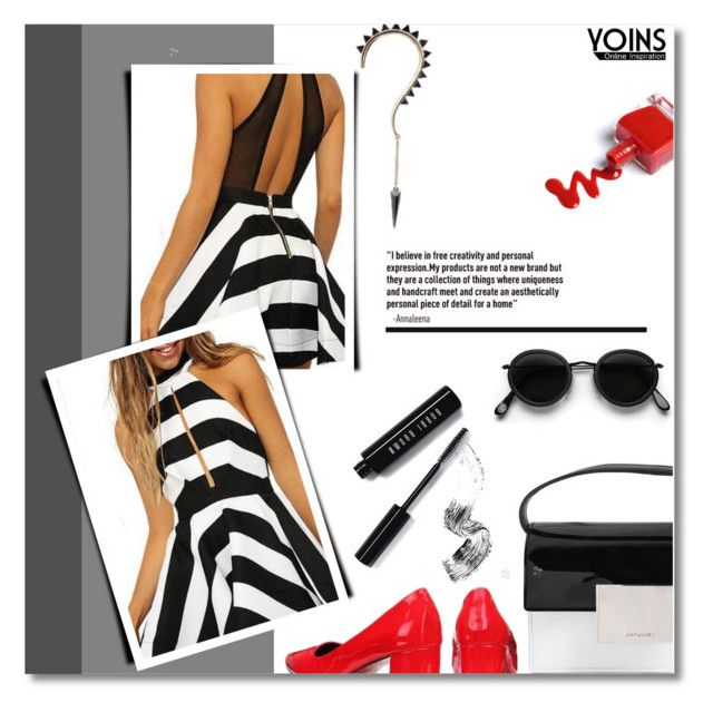 """why not ? - yoins.com 2 / 1"" by bynoor ❤ liked on Polyvore featuring Acne Studios, Bobbi Brown Cosmetics and Yves Saint Laurent"
