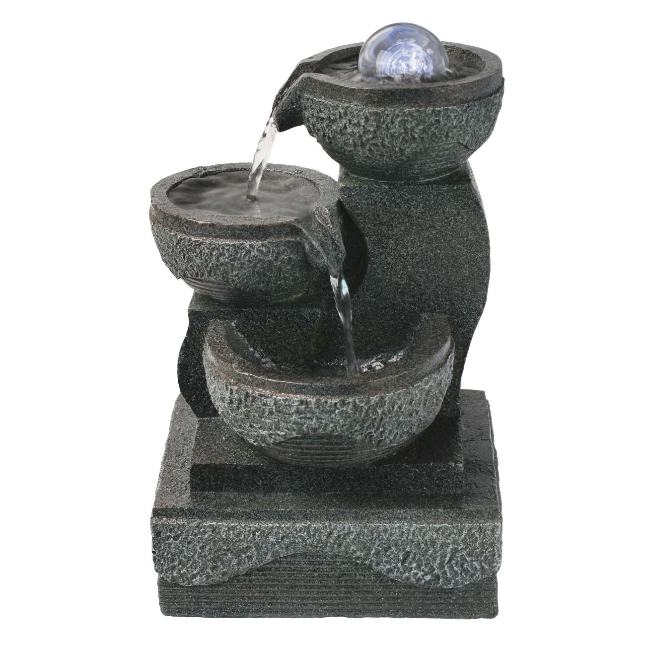 ace hardware astonica indoor lighted table top water fountain