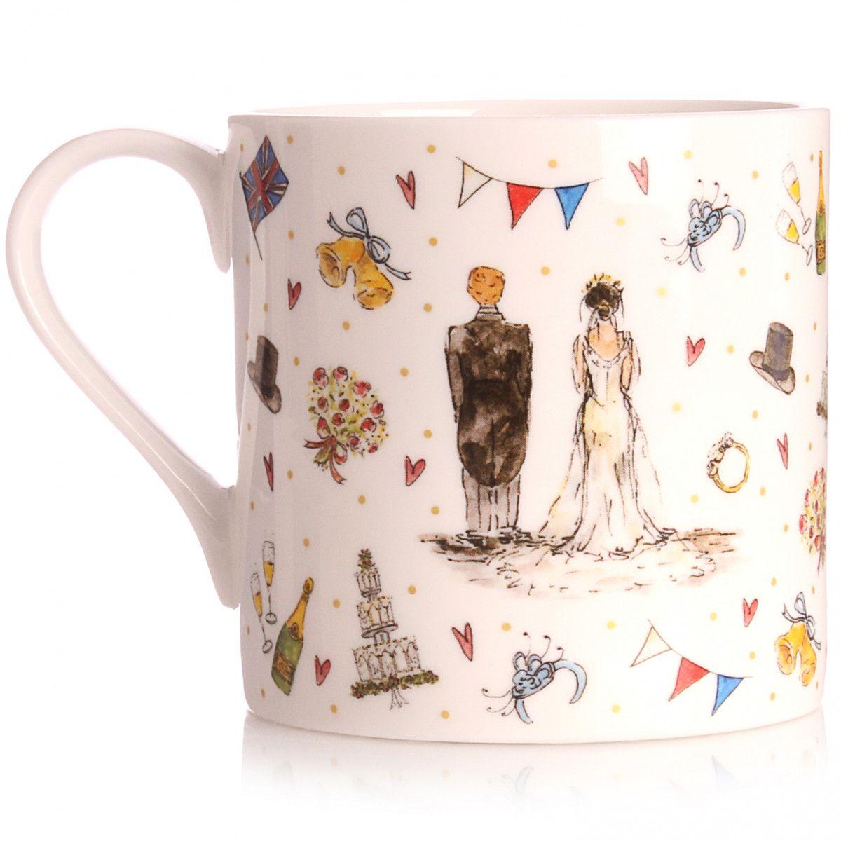 Milly Green Royal Wedding Mug New to the Shop BBC Shop