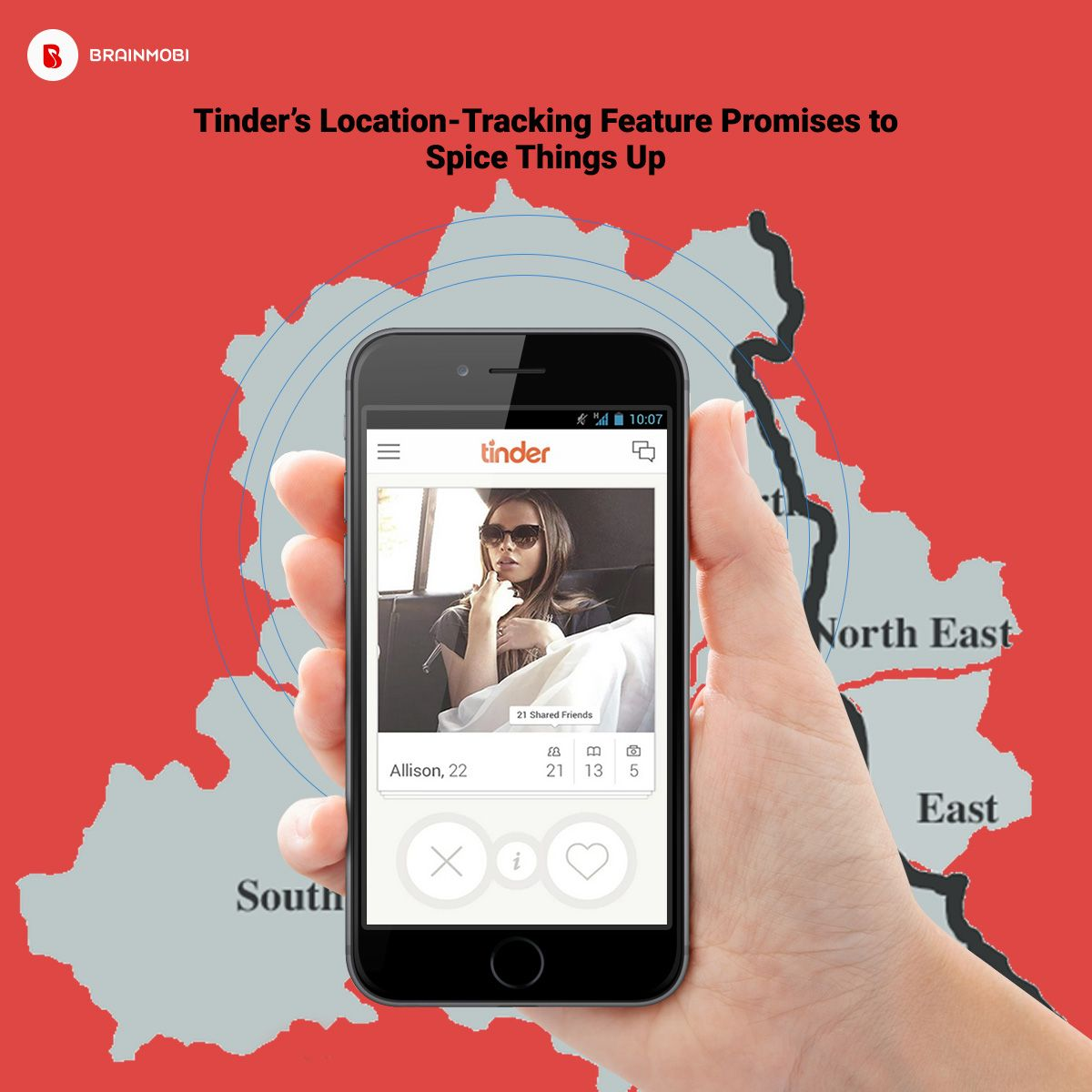Tinder introduced new location tracking feature to enhance