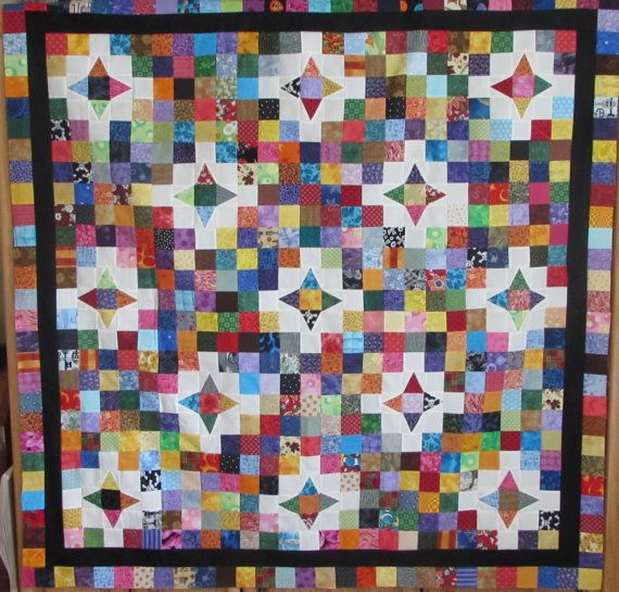 For the Love of 2 1/2 Inch Squares Quilt Top | Products