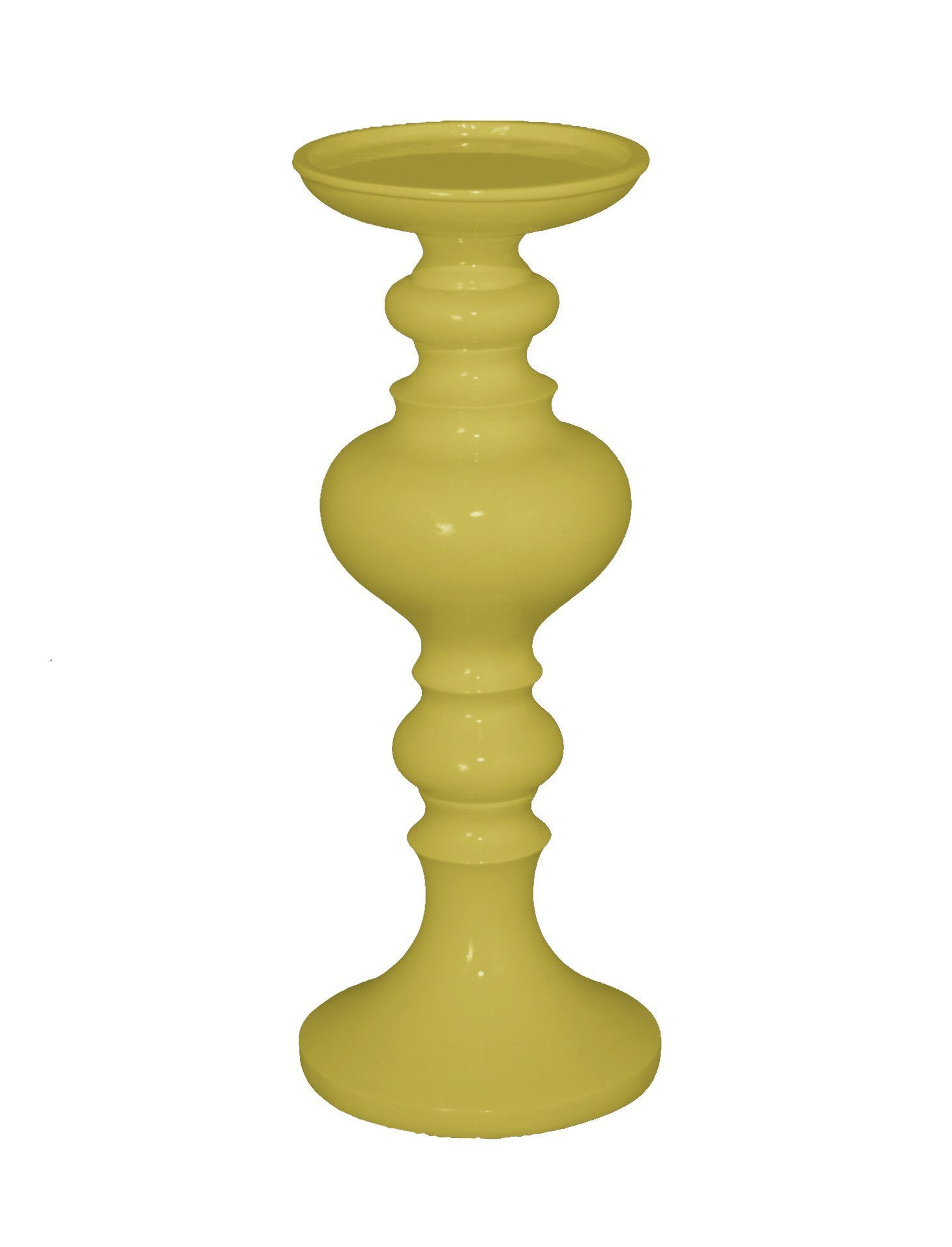 Fabulous yellow resin small candle holder подсвечники pinterest
