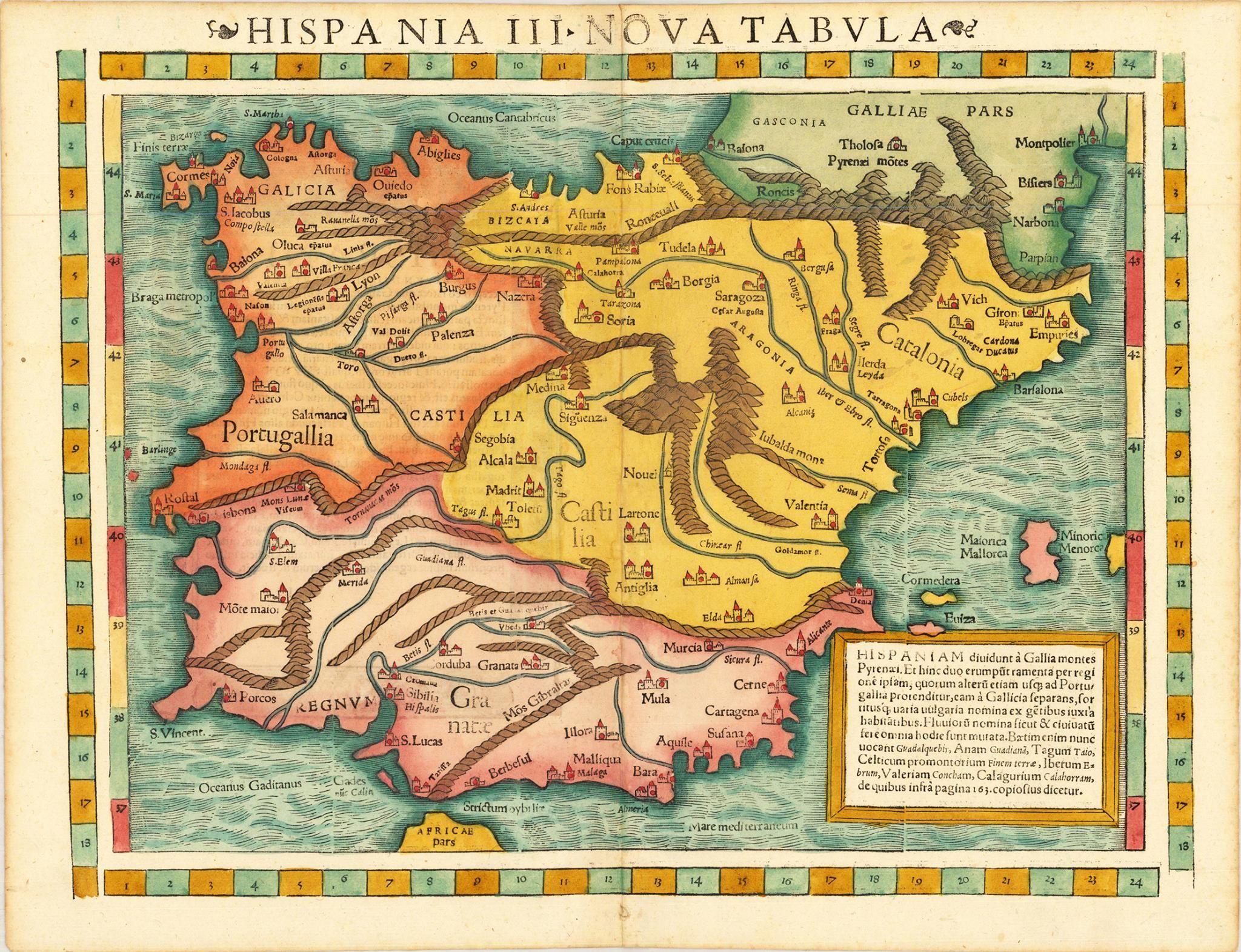 Espaa Espaa Travel Pinterest Cartography and History