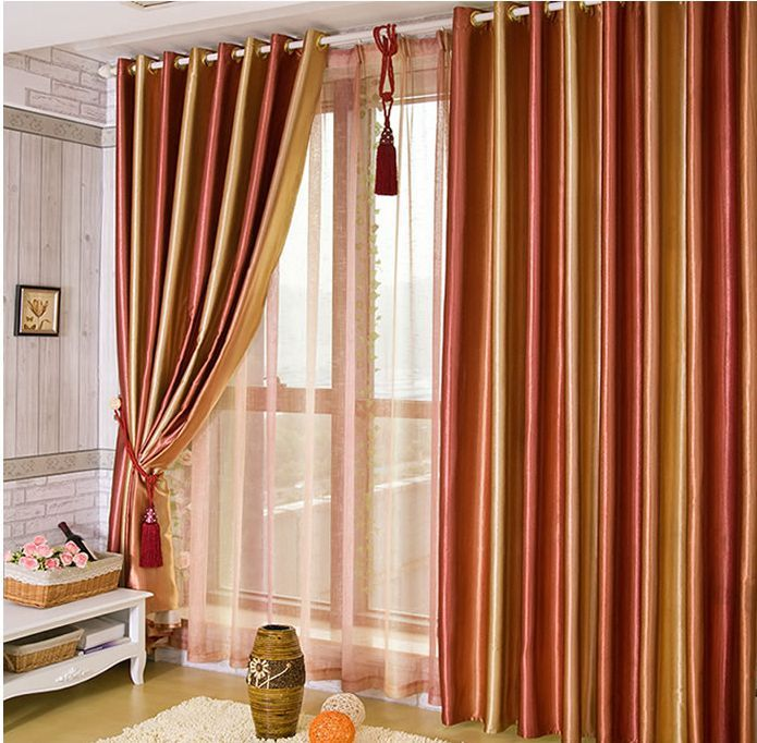 Upscale Living Room Colorful Curtains Red Green Purple Brown Curtains Nice Curtains Free Shipping Affi Orange Curtains Living Room Orange Curtains Living Room