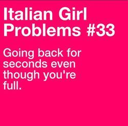 #eat #mangia #italiangirlproblems this also applies to Mexican.  I would know