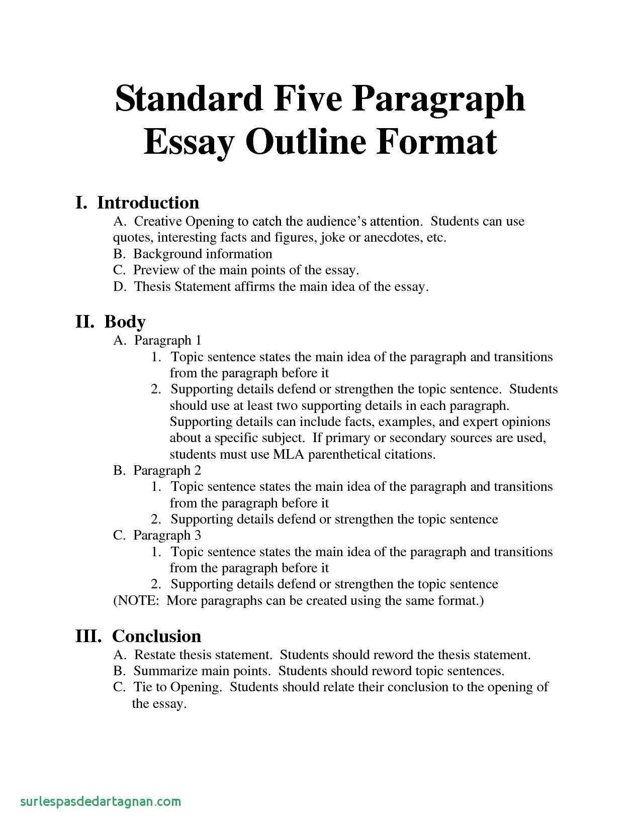 Standard Essay format Bing Essays Homeschool Inspirational