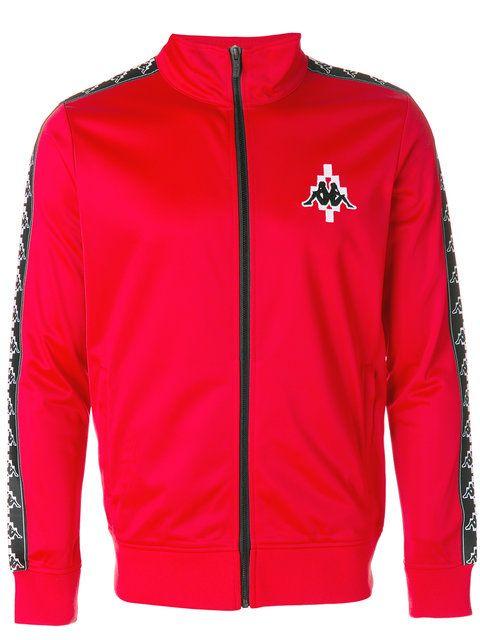 fe39e3424cd91 MARCELO BURLON COUNTY OF MILAN X Kappa Zipped Sports Jacket.   marceloburloncountyofmilan  cloth  jacket