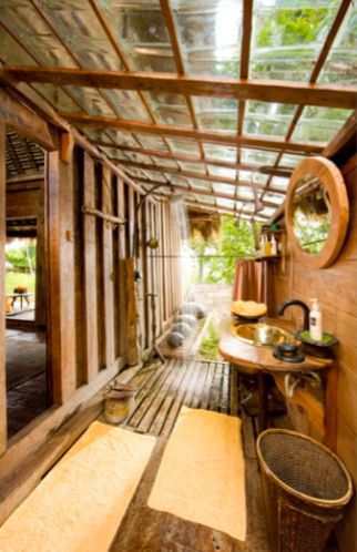 Vila Bambu Indah Ubud Indonesia ハウスデザイン ハウス 建築デザイン