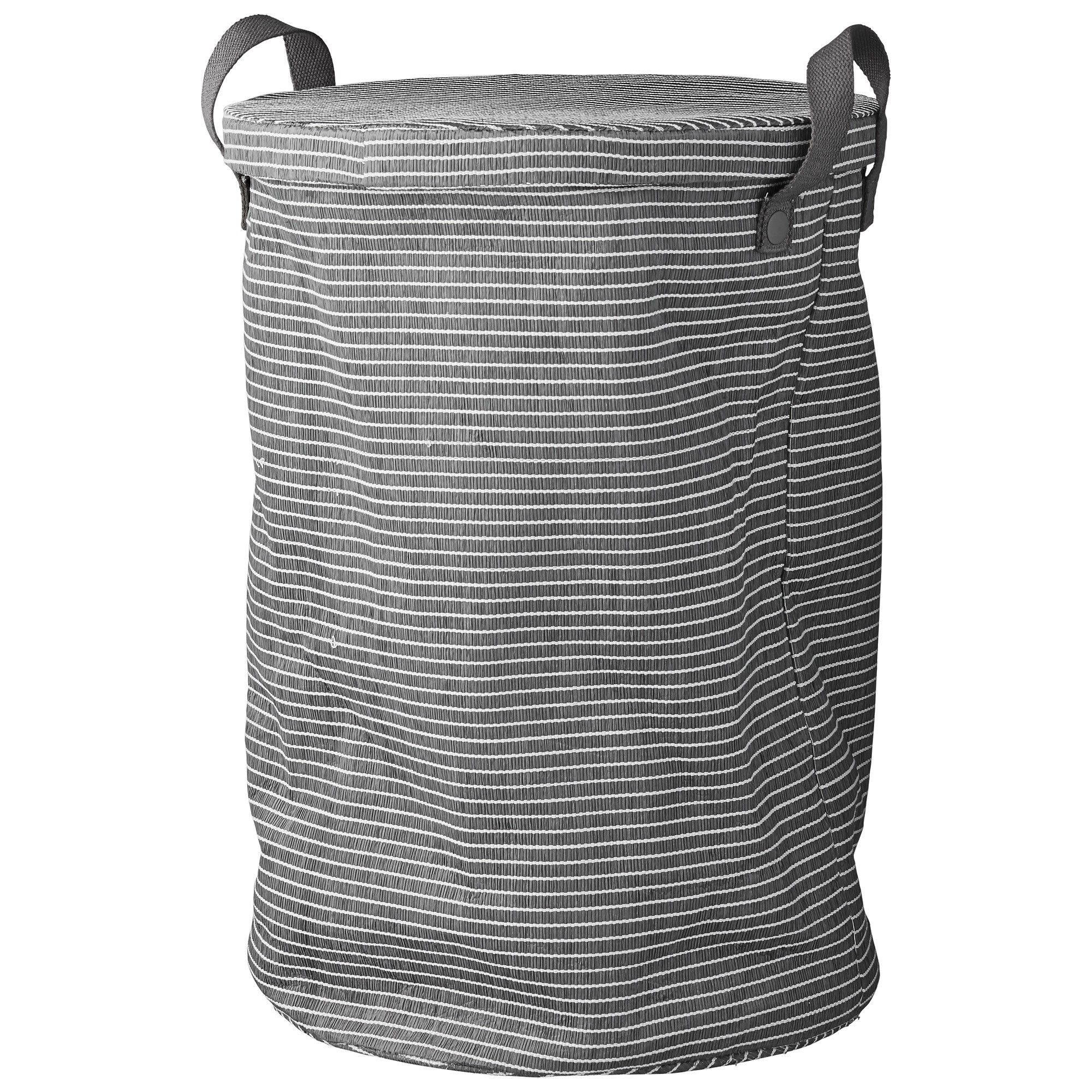 Grey Laundry Basket With Lid Design Vintage Laundry Grey