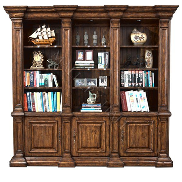 Providence Antique Brown 3 Parion Bookcase Starting At