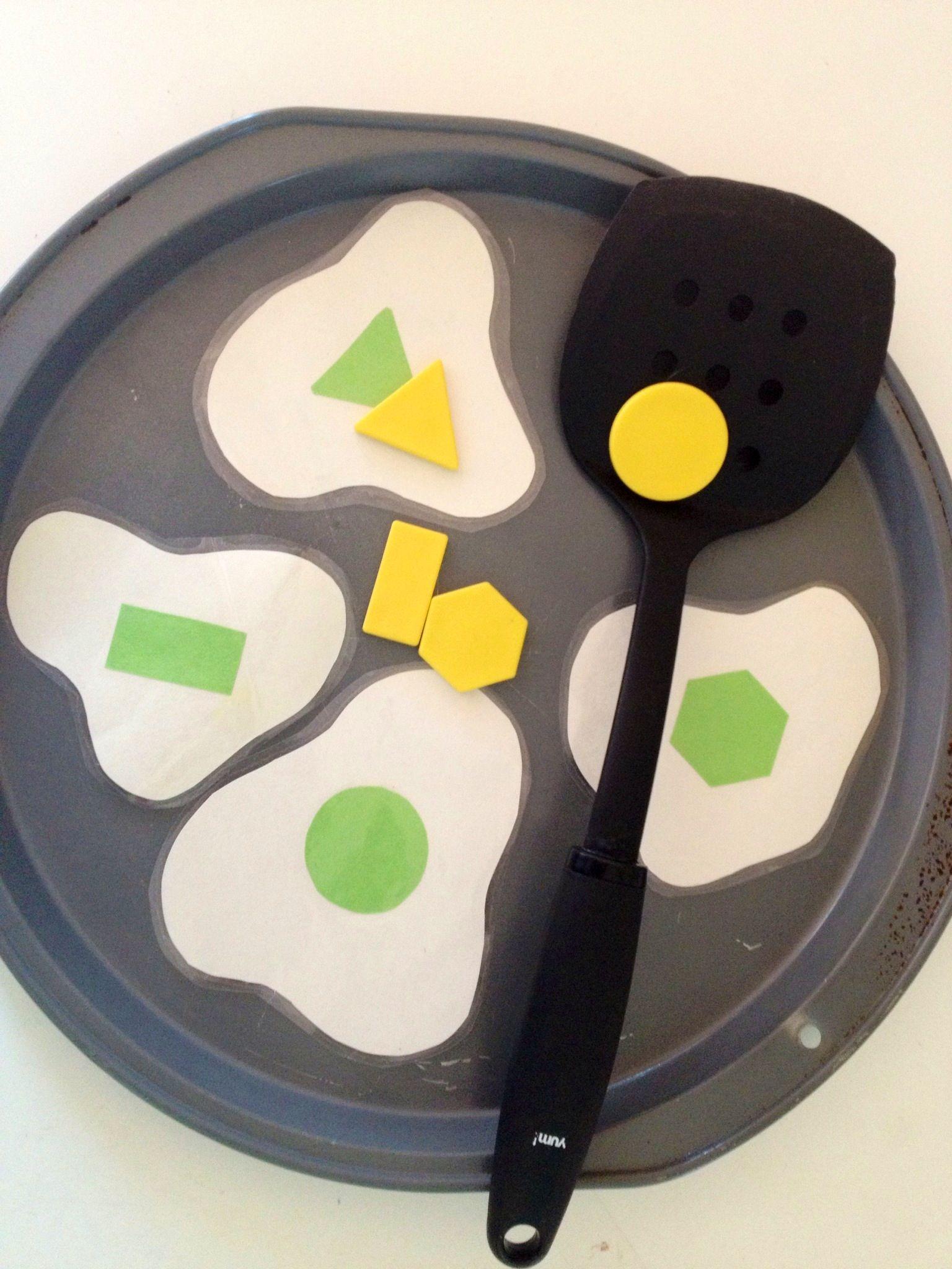 Dr Seuss Green Eggs And Ham Shape Match