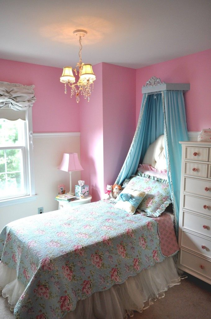 She's a Big Girl Now Princess Room Little girl rooms