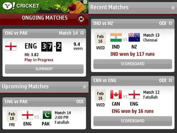 i am shearing Live Cricket Score on your Mobile Free app