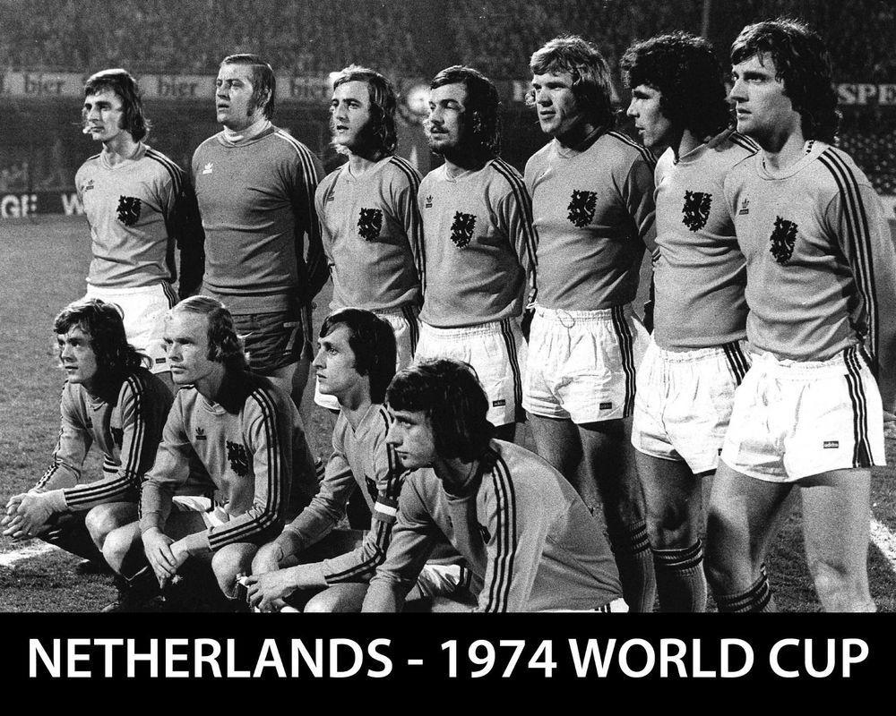 Details about NETHERLANDS 1974 World Cup Team, 8x10 B&W