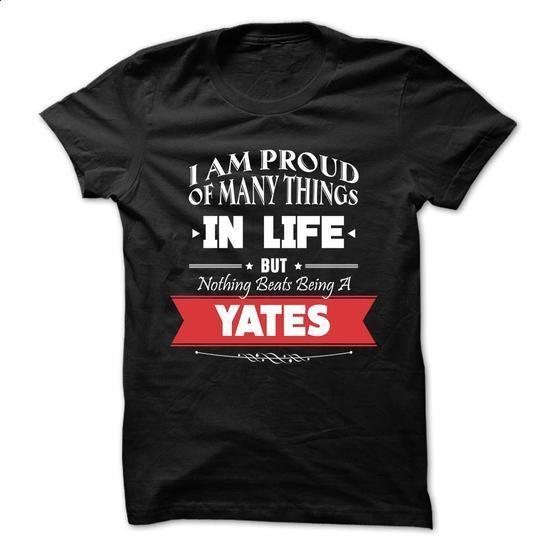 YATES-the-awesome - #mens hoodie #sweater dress outfit. CHECK PRICE => https://www.sunfrog.com/LifeStyle/YATES-the-awesome-73606344-Guys.html?68278