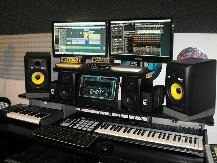 Studio Mini Music Setup