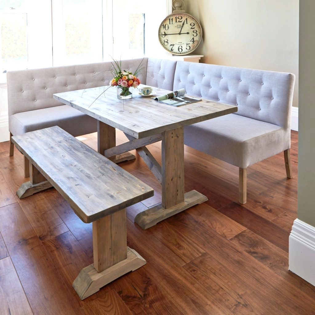 Beau Dining Table With Bench Seats Ikea Alina Cm Dining Table With Corner And  Small Bench Image Marvellous Small Kitchen Table Chairs For Dining Table  With Bench ...