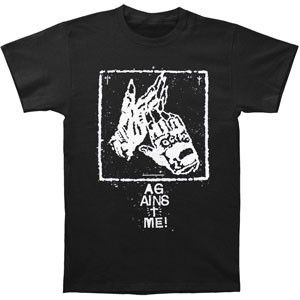 Against Me Clapping Gloves T Shirt Iconic Shop Online Retailer Of T Shirts Music Glassware Accessories And More Shirts T Shirt Mens Tshirts