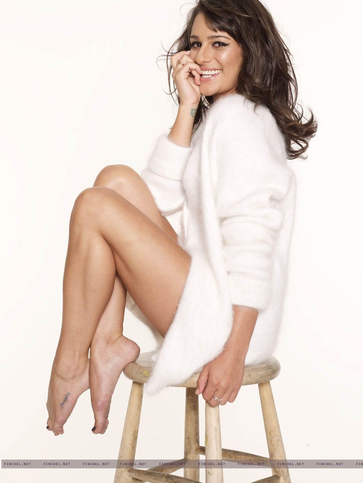 Feet Lea Michele nude photos 2019