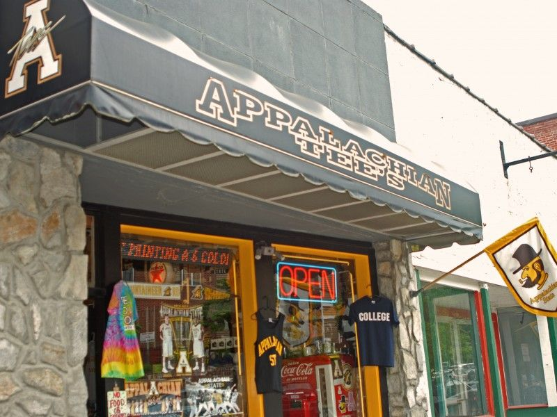 Appalachian Tee's Other AppState Retailers This is us