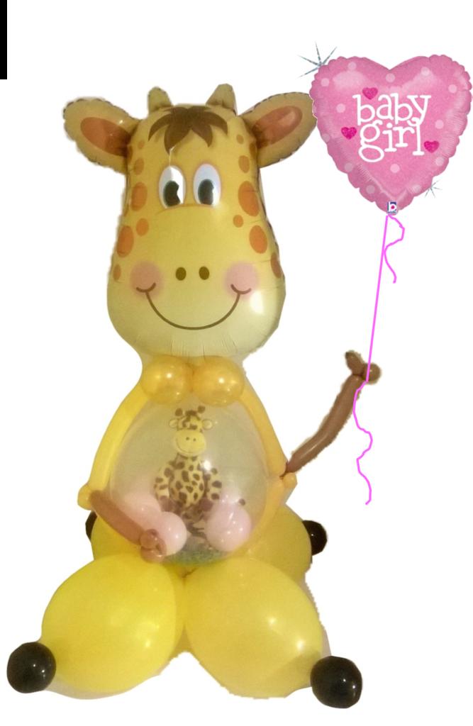 Gi Gi And Baby Stuff A Balloon Gift In Balloon Baby Shower Gift