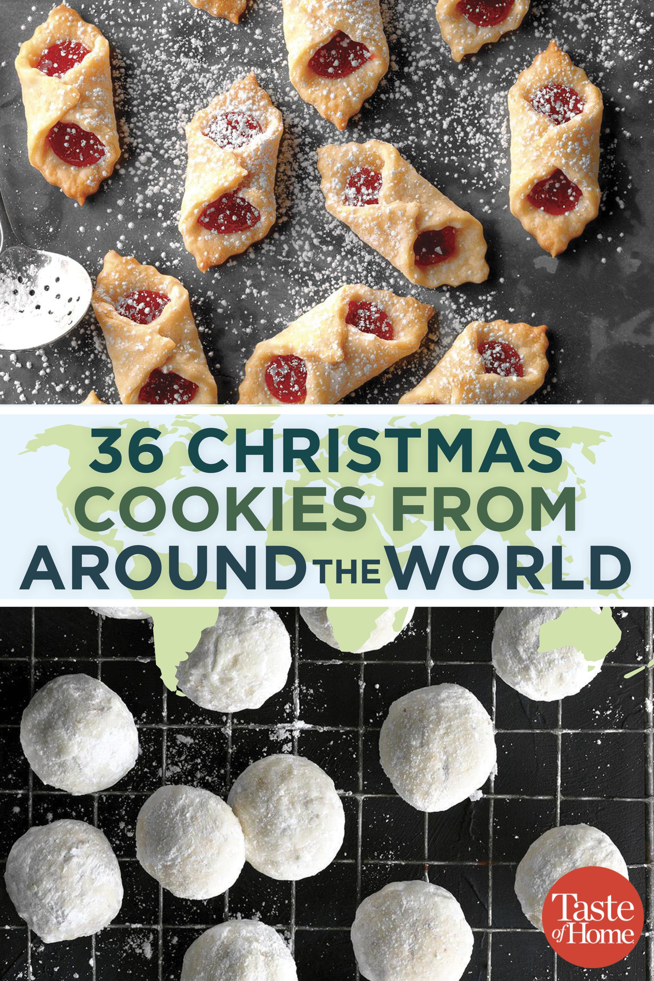40 Christmas Cookies from Around the World Christmas