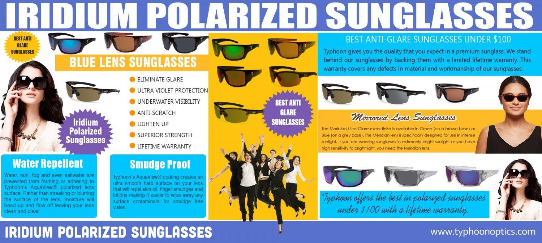 polarised sunglasses fishing  Iridium Polarized Sunglasses Infographic