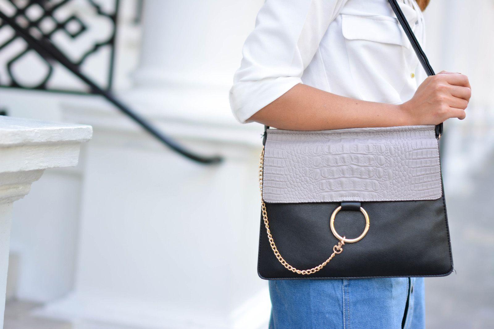 Chloe Faye dupe bag for under £25!   Fashion   Handbags   Pinterest   Bag, Denim skirt and Fashion