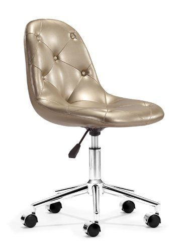 Zuo Life Office Chair Gold By Zuo 160 62 Office Chair