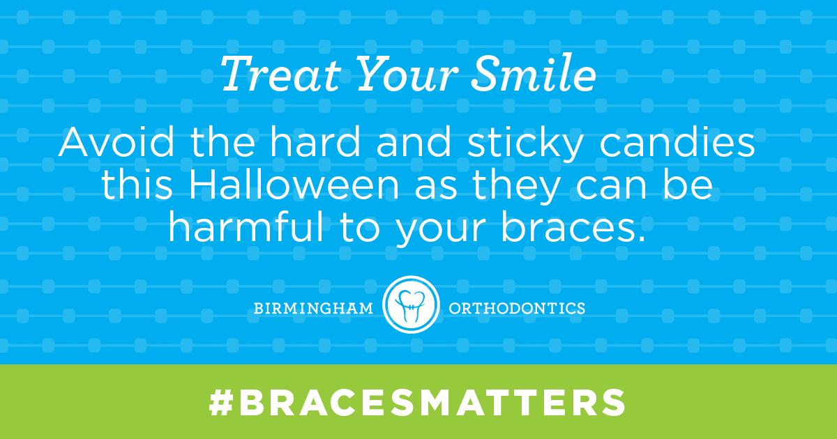 Stick to the softer candies. bracesmatter bracestips