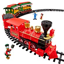 disneyland railroad train set christmas traindisney - Disney Christmas Train