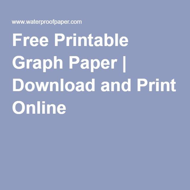 print graph paper online