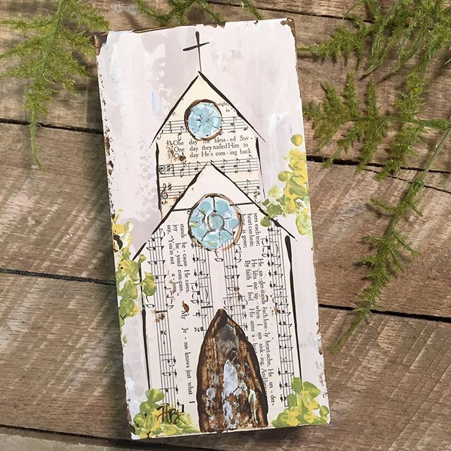 4x8 Hymnal Page Church Available In My Etsy Shop Link In Profile Haleybdesigns Haleybushart Churchpainting Churchart Hymnal Crafts Hymn Art Church Art