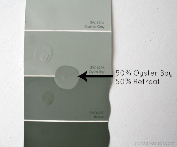 When Oyster Bay And Retreat Meet Paint Colors For Home
