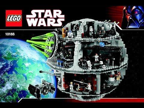 Lego Star Wars 10188 Death Star Instruction Manual Legos