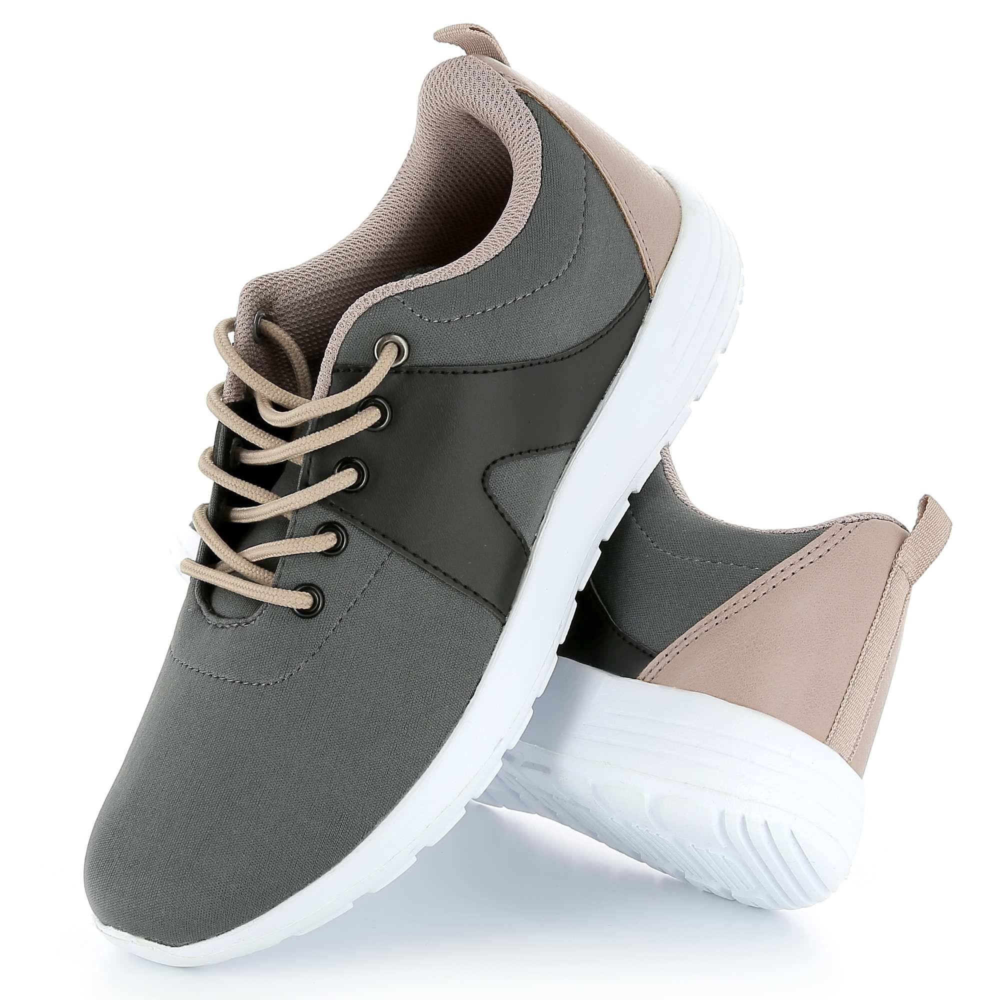 colores armoniosos colores y llamativos vende Zapatillas deportivas de running 'Kiabi' X 'Lisaa' Mujer ...
