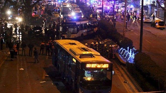 Ankara Valiligi Kizilay Trafige Kapali Valilik Aciklamasinda