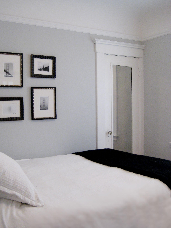 guest bedroom u0026 bathroom benjamin moore pale