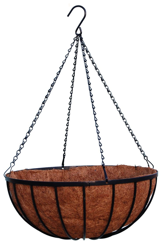 "Pro Grow-Plus hanging baskets - Georgian original style -18"""
