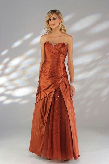 01bbbc4842 copper colored evening gown - Google Search