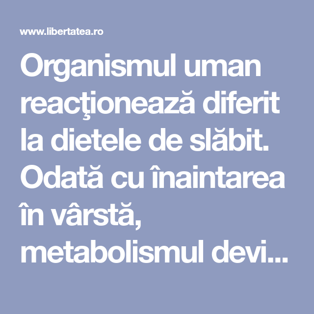 Stresul și joul calorie