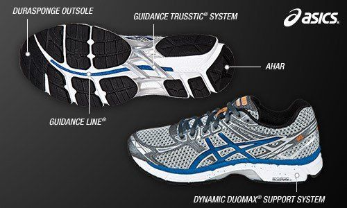 asics duomax mens running shoes