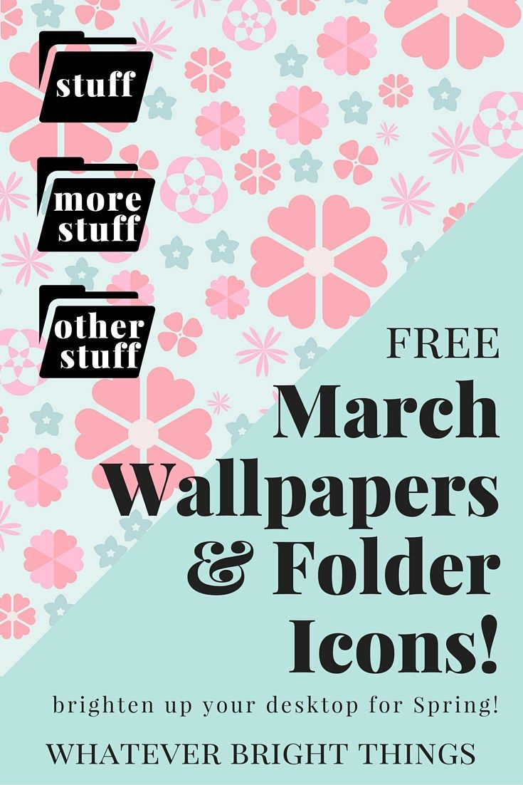Free March Wallpapers & Folder Icons Folder icon