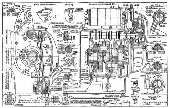 Russian m 72 blueprints motorcycle engine blueprintsschematic russian m 72 blueprints malvernweather Images