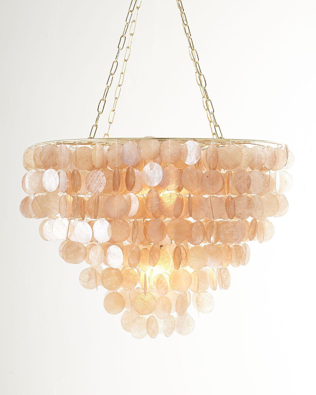 Rosalea capiz shell chandelier images i like pinterest capiz rosalea capiz shell chandelier arubaitofo Image collections