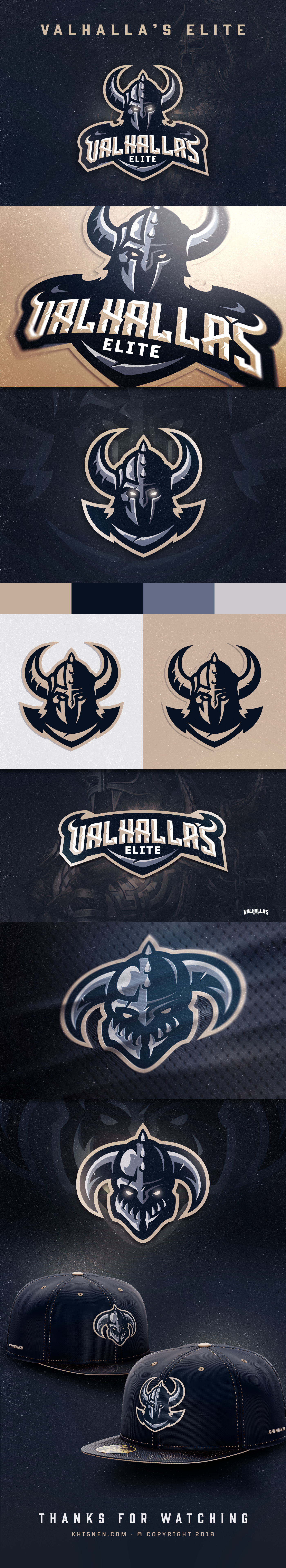 Recent project for a esports team Branding Design